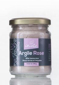 Argile rose surfine